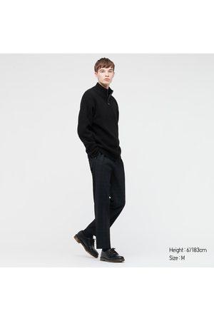 UNIQLO Uomo Cardigan - Maglione Filato Soffice Con Zip Uomo