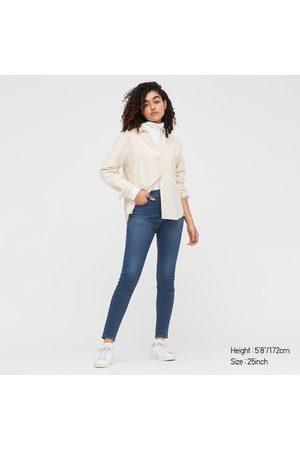 UNIQLO Jeans Alla Caviglia Skinny Vita Alta Donna