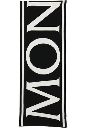 Moncler Sciarpa in lana con logo