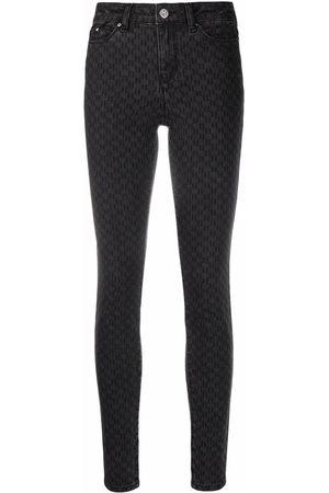 Karl Lagerfeld Jeans skinny con vita media