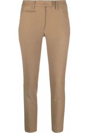 Dondup Slim-cut trousers - Toni neutri