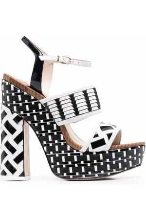 SOPHIA WEBSTER Donna Sandali con plateau - Celia 140mm platform sandals