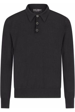 Dolce & Gabbana Uomo Polo - Polo a maniche lunghe