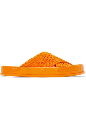Fendi Donna Sandali - Orange 'Forever ' Reflections Sandals