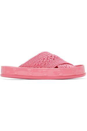 Fendi Donna Sandali - Pink 'Forever ' Reflections Sandals