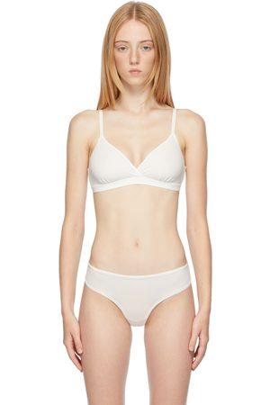 SKIMS White Fits Everybody Crossover Bralette