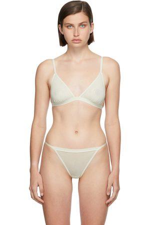 SKIMS Donna Senza ferretti - Off-White Summer Mesh Strappy Triangle Bralette