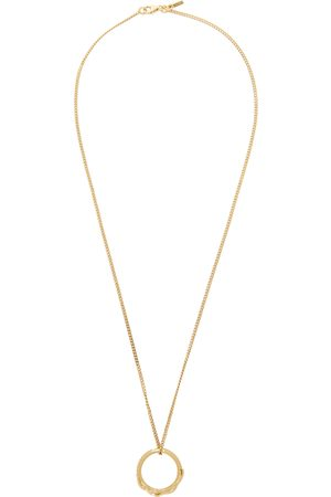 EMANUELE BICOCCHI Uomo Collane - SSENSE Excluisve Flame Dagger Ring Necklace