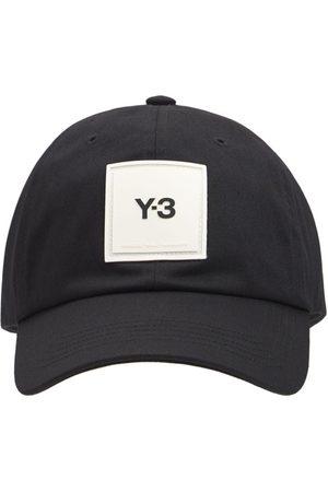 Y-3 Cappello In Cotone Con Logo