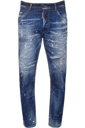 Dsquared2 Jeans Skater In Denim Di Cotone 16cm