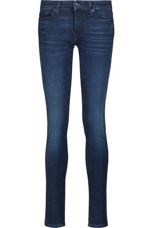 7 for all Mankind Donna Slim & Sigaretta - Jeans slim Pyper Slim Illusion