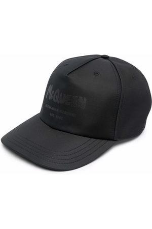 Alexander McQueen Cappello da baseball con stampa - 1000 BLACK