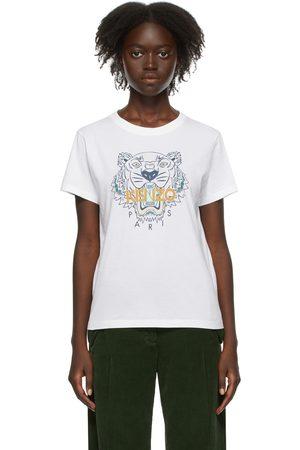 Kenzo Donna T-shirt a maniche corte - White Tiger T-Shirt