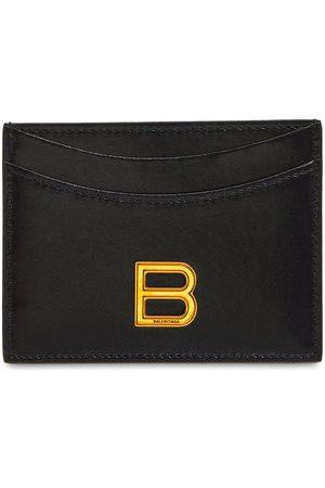 Balenciaga Donna Portafogli e portamonete - Porta Carte Di Credito In Pelle Con Logo