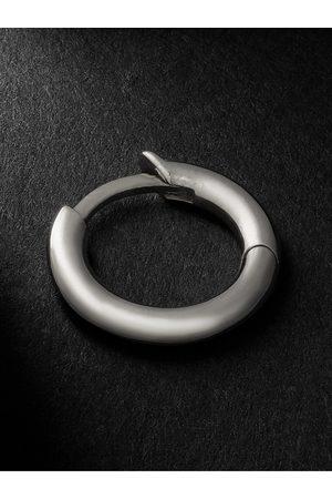 SPINELLI KILCOLLIN Uomo Orecchini - White Gold Single Hoop Earring