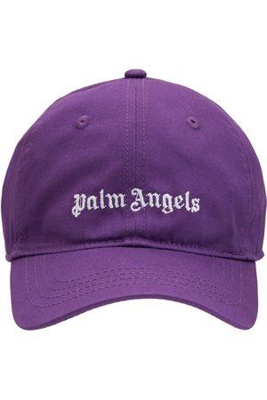 Palm Angels Bambina Cappelli con visiera - Cappello Baseball In Gabardina Di Cotone