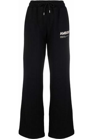AMBUSH Pantaloni sportivi con stampa