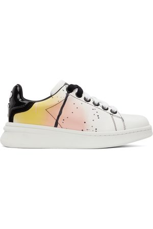 Marc Jacobs Donna Sneakers - White 'The Spray Paint Tennis Shoe' Sneakers
