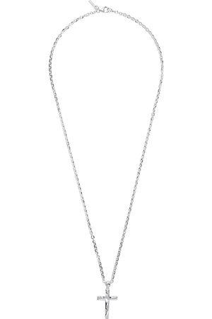 EMANUELE BICOCCHI Uomo Collane - SSENSE Exclusive Silver Cross Necklace