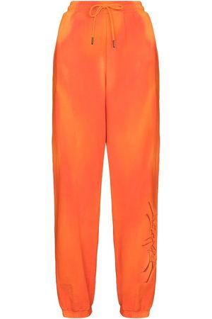Daily Paper Donna Pantaloni sportivi - Pantaloni sportivi con fantasia tie-dye