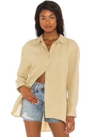 Seafolly Beach Linen Shirt in - . Size L (also in S, XS, M).