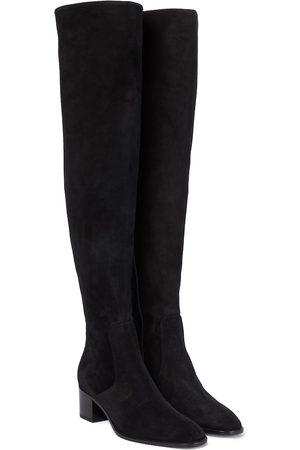 Christian Louboutin Donna Sopra il ginocchio - Stivali cuissardes Gazzellou in suede