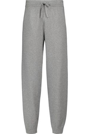 Isabel Marant Donna Eleganti - Pantaloni sportivi Kira in misto cotone e lana