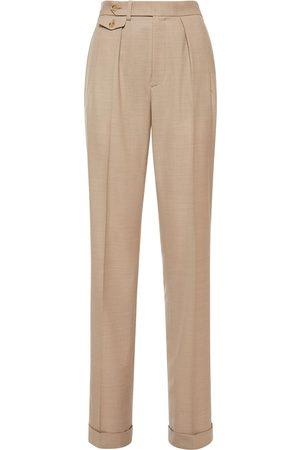 Ralph Lauren Pantaloni Sartoriali In Lana