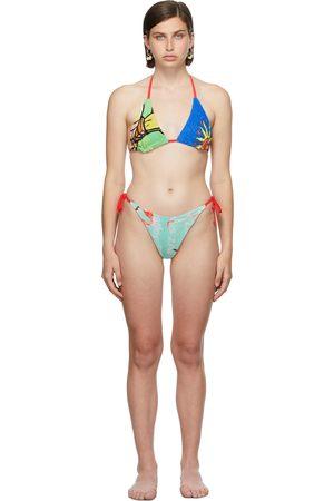 Rave Review Donna Bikini - SSENSE Exclusive Red Lulu Lili Bikini