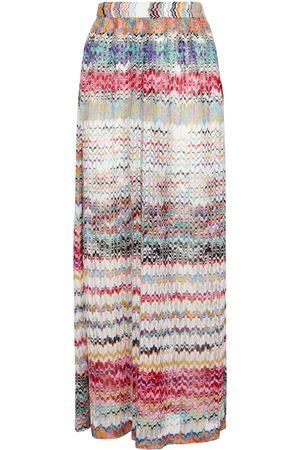 Missoni Mare Pantaloni in maglia a zig-zag