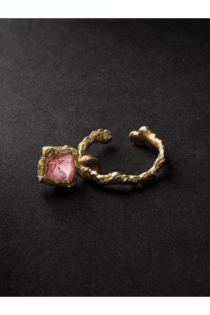 Healers Fine Jewelry 18-Karat Tourmaline Ear Cuff
