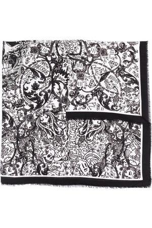 Philipp Plein Sciarpe - Sciarpa con stampa New Baroque