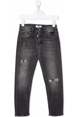 MSGM Kids Jeans skinny a vita media
