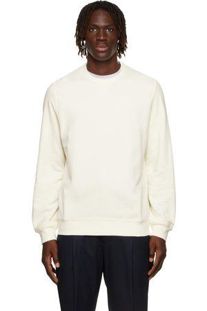 Brunello Cucinelli Off-White French Terry Sweatshirt