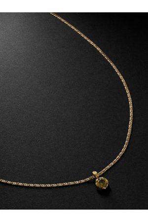 Healers Fine Jewelry 18-Karat Tourmaline Necklace