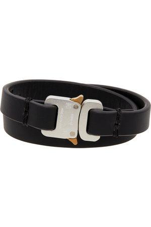 1017 ALYX 9SM Uomo Bracciali - Black Micro Buckle Cuff Bracelet