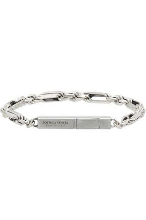 Bottega Veneta Silver Chain Bracelet