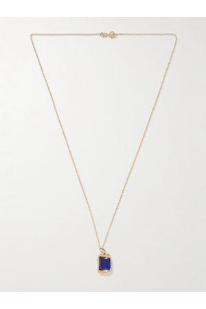 Bleue Burnham Uomo Collane - 9-Karat Recycled Sapphire Pendant Necklace