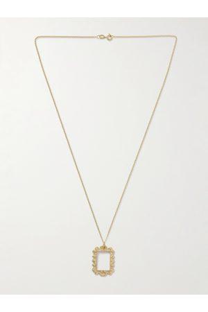 Bleue Burnham Uomo Collane - The Portrait 9-Karat Recycled Pendant Necklace