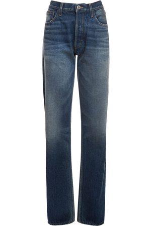 THE ATTICO Jeans Boyfriend In Di Cotone