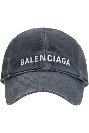 BALENCIAGA Cappello In Cotone Con Logo