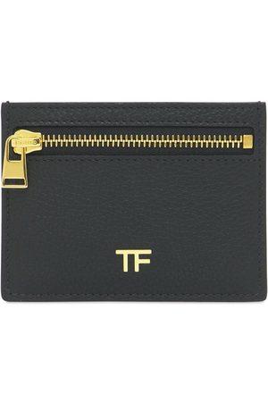 Tom Ford Busta In Pelle Con Zip