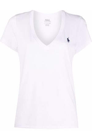 Polo Ralph Lauren Donna T-shirt - T-shirt con scollo a V