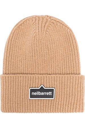 Neil Barrett Berretto con logo - Toni neutri