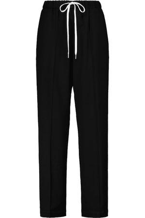 MM6 Maison Margiela Pantaloni sportivi in misto lana
