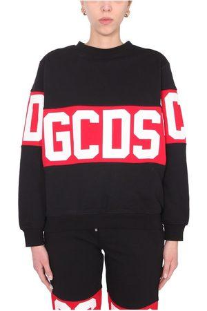 GCDS Crew Neck Sweatshirt , Donna, Taglia: XS
