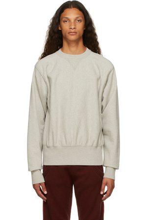 Maison Margiela Uomo Felpe - Grey Shrunken Sweatshirt