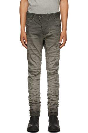 Boris Bidjan Saberi Grey Resin-Dyed P13 Jeans