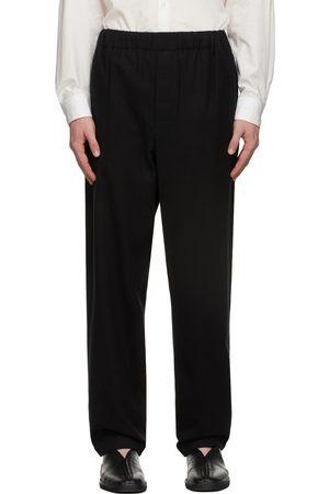 Lemaire Uomo Pigiami - Black Pyjama Trousers
