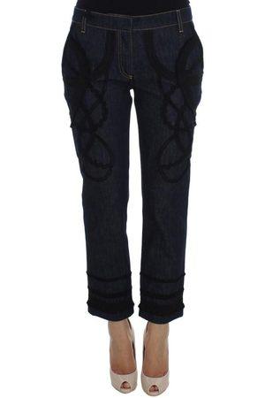 Dolce & Gabbana Denim Capri Torero Jeans , Donna, Taglia: 42 IT